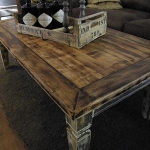 Industrial fa asztal  (bettydekor) - Meska.hu