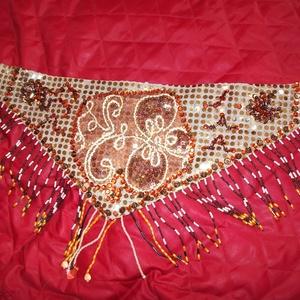 Egyedi teljesen kézzel készült hastáncruha (Bhaktika) - Meska.hu