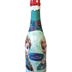Jégvarázs gyermek pezsgő kiárusítás, Anna és Elza képével ajándék gyermeknapra, szülinapra, névnapra, Otthon & Lakás, Díszüveg, Dekoráció, Jégvarázs gyermek pezsgő kiárusítás, Anna és Elza képével ajándék gyermeknapra, szülinapra. Egyedile..., Meska