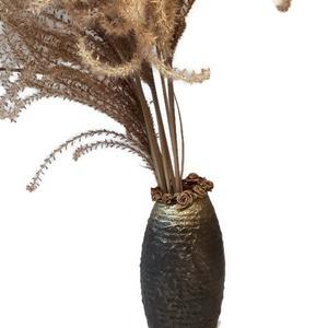 Versace kerámia váza szatén rózsával divatot kedvelőknek szülinapra, névnapra, házavatóra (Biborvarazs) - Meska.hu