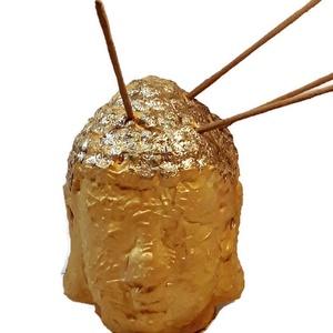 Arany Buddha szobor, teamécses és füstölő 3 az 1-ben spirituális ajándék  , Dísztárgy, Dekoráció, Otthon & Lakás, Festett tárgyak, Arany Buddha szobor, teamécses és füstölő 3 az 1-ben spirituális ajándék. \n\nAnyaga: kerámia\nMérete: ..., Meska