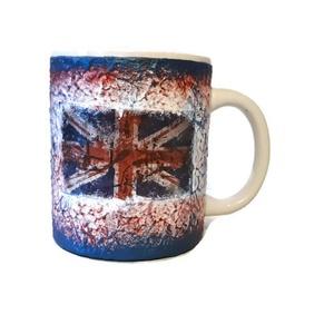Brit zászló mintás London dísz-és használati bögre Angliába utazó v. Angliából hazaérkezőknek, angol tanároknak. , Otthon & Lakás, Bögre & Csésze, Konyhafelszerelés, Brit zászló mintás London dísz-és használati kerámia bögre Angliába utazó v. Angliából hazaérkezőkne..., Meska