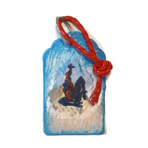 Pókember fa kulcstartó névnapra, szülinapra, suliváró, iskolakezdési, mikulás ajándék - táska & tok - kulcstartó & táskadísz - kulcstartó - Meska.hu