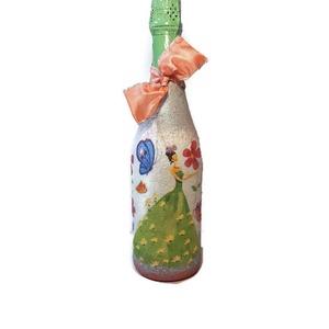 Tündér gyermek alkoholmentes pezsgő ajándék gyermeknapra, szülinapra, névnapra, ballagásra, szilveszterre, Otthon & Lakás, Díszüveg, Dekoráció, Tündér gyermek alkoholmentes pezsgő ajándék gyermeknapra, szülinapra, névnapra, ballagásra, szilvesz..., Meska