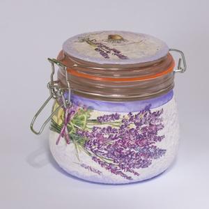 Levendulás dekor fűszertartó anyáknapi, pedagógusnapi ajándékötlet.  (Biborvarazs) - Meska.hu