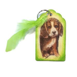 Kutya fa sötétben fluoreszkáló kulcstartó kutya imádóknak névnapra, szülinapra, karácsonyra, mikulásra. , Otthon & lakás, Egyéb, Táska, Divat & Szépség, Kulcstartó, táskadísz, Decoupage, transzfer és szalvétatechnika, Kutya fa sötétben fluoreszkáló kulcstartó kutya imádóknak névnapra, szülinapra, karácsonyra, mikulás..., Meska