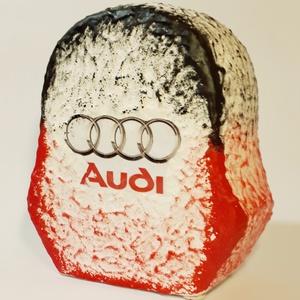 Audi kerámia persely autó rajongói ajándék karácsonyra, mikulásra, névnapra, szülinapra., Gyerek & játék, Dekoráció, Otthon & lakás, Tárolóeszköz - gyerekszobába, Ünnepi dekoráció, Gyereknap, Decoupage, transzfer és szalvétatechnika, Audi kerámia persely autó rajongói ajándék karácsonyra, mikulásra, névnapra, szülinapra.(Mérete: 10x..., Meska