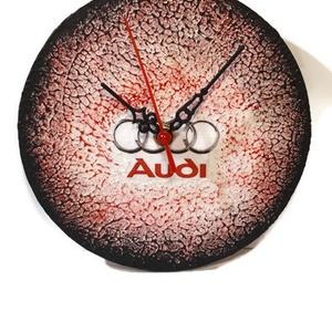 Audi fa sötétben fluoreszkáló falióra audi rajongói ajándék , Férfiaknak, Legénylakás, Lakberendezés, Otthon & lakás, Falióra, óra, Decoupage, transzfer és szalvétatechnika, Audi fa sötétben flureszkáló falióra audi rajongói ajándék férfiaknak, férjeknek, barátoknak, gyerme..., Meska