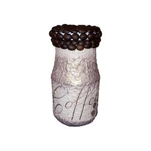 Kávé illat, ami nem csak a kávétartóból jön, kávésüveg kávészemekkel (4dl), Konyhafelszerelés, Otthon & lakás, Lakberendezés, Fűszertartó, Decoupage, transzfer és szalvétatechnika, Kávé illat, ami nem csak a kávétartóból jön, kávésüveg kávészemekkel (3-4dl)\n\nKapható hozzá illő dek..., Meska