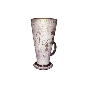 Kávé illat, ami nem csak a csészéből jön, kávéspohár kávészemekkel (2dl), Otthon & Lakás, Pohár, Konyhafelszerelés, Kávé illat, ami nem csak a csészéből jön, kávéspohár kávészemekkel (2dl)  Kapható hozzá illő dekorác..., Meska