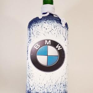 Bmw rajongói ajándék - italos dísz- és használati lapos üveg , Otthon & Lakás, Dekoráció, Díszüveg, Bmw rajongói ajándék - italos dísz- és használati lapos üveg  Űrtartalma: 750-1000 ml.  Rendelhető m..., Meska