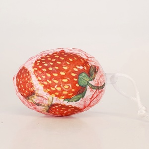 Eper húsvéti tojás kerámia tojástartó és gyertyatartó 3 az 1-ben húsvétra - Epres meglepetés tojással  (Biborvarazs) - Meska.hu