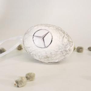 Mercedes húsvéti tojás, autó rajongói meglepetés tojás, nem csak húsvétra, névnapra, szülinapra, gyermeknapra. (Biborvarazs) - Meska.hu