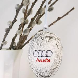 Audi húsvéti tojás, autó rajongói meglepetés tojás, nem csak húsvétra, névnapra, szülinapra, gyermeknapra. (Biborvarazs) - Meska.hu