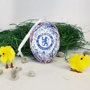 Chelsea húsvéti tojás foci rajongói meglepetés tojás nem csak húsvétra, névnapra, szülinapra, gyermeknapra (Biborvarazs) - Meska.hu