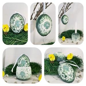 FTC sötétben világító húsvéti tojás foci rajongói meglepetés tojás kermia gyertyatartó + tojástartó 3 az 1-ben ajándék, Gyertya & Gyertyatartó, Dekoráció, Otthon & Lakás, Decoupage, transzfer és szalvétatechnika, FTC sötétben világító húsvéti tojás foci rajongói meglepetés, locsoló ajándék tojás kermia gyertyata..., Meska
