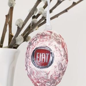Fiat húsvéti tojás, autó rajongói meglepetés tojás, nem csak húsvétra, névnapra, szülinapra, gyermeknapra. (Biborvarazs) - Meska.hu