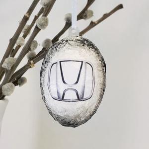 Honda húsvéti tojás, autó rajongói meglepetés tojás, nem csak húsvétra, névnapra, szülinaprra, mikulásra, adventre. (Biborvarazs) - Meska.hu
