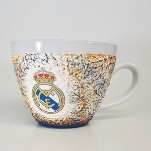 Real Madrid kerámia bögre, foci rajongói ajándék névnapra, szülinapra, karácsonyra. , Otthon & Lakás, Bögre & Csésze, Konyhafelszerelés, Real Madrid kerámia bögre, foci rajongói ajándék névnapra, szülinapra, karácsonyra. gyermeknapra.  A..., Meska