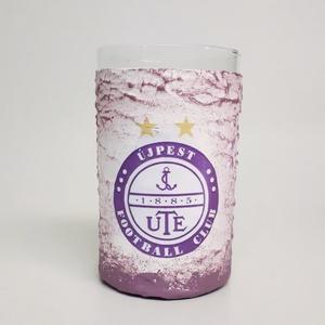 UTE rajongóknak üdítős, vizes pohár, ute futball rajongói ajándék (2-3 dl), Otthon & Lakás, Pohár, Konyhafelszerelés, UTE rajongóknak üdítős, vizes pohár, ute futball rajongói ajándék (2-3 dl). A pohár formája eltérhet..., Meska