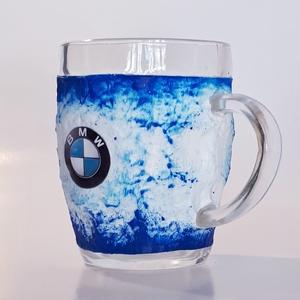 BMW  sörös korsó  rajongói ajándék férfiaknak, férjeknek, barátoknak, Otthon & lakás, Konyhafelszerelés, Férfiaknak, Sör, bor, pálinka, Bögre, csésze, Decoupage, transzfer és szalvétatechnika, BMW sörös korsó, füles bögre, rajongói ajándék férfiaknak, férjeknek, barátoknak\nSör kedvelőknek köt..., Meska
