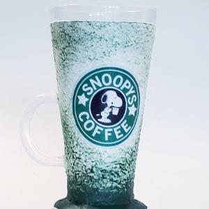 Snoopy  frapuccinos jeges kávés pohár szülinapra, névnapra, Otthon & Lakás, Pohár, Konyhafelszerelés, Snoopy frapuccinos jeges kávés pohár szülinapra, névnapra, gyermeknapra.   Mérete: 1,5 dl.   Egyedil..., Meska