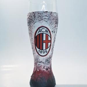Ac Milan foci rajongói sörös pohár 500 ml , Otthon & Lakás, Pohár, Konyhafelszerelés, Ac Milan foci rajongói sörös pohár 500 ml   Sör kedvelőknek kötelező kellék! Kiváló ajándék mikulásr..., Meska
