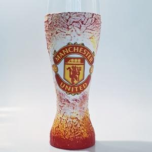 Manchester United foci rajongói sörös pohár 500 ml , Otthon & Lakás, Pohár, Konyhafelszerelés, Manchester United foci rajongói sörös pohár 500 ml   Sör kedvelőknek kötelező kellék! Kiváló ajándék..., Meska
