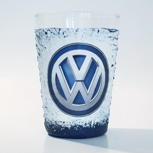 Volkswagen üdítőspohár, vizes pohár autórajongói ajándék névnapra, szülinapra, karácsonyra, mikulásra (2 - 2,5 dl), Otthon & lakás, Konyhafelszerelés, Bögre, csésze, Férfiaknak, Legénylakás, Decoupage, transzfer és szalvétatechnika, Volkswagen üdítőspohár, vizes pohár autórajongói ajándék névnapra, szülinapra, karácsonyra, mikulásr..., Meska