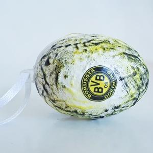 Dortmund meglepetés tojás focis húsvéti tojás nem csak húsvétra, névnapra, szülinapra, gyermeknapra. (Biborvarazs) - Meska.hu
