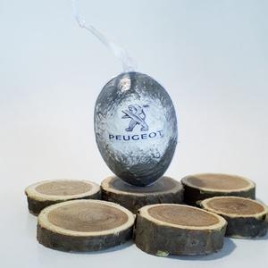 Peugeot húsvéti tojás, autó rajongói meglepetés tojás, nem csak húsvétra, névnapra, szülinapra..., Dísztárgy, Dekoráció, Otthon & Lakás, Decoupage, transzfer és szalvétatechnika, Peugeot húsvéti tojás, autó rajongói meglepetés tojás, locsoló ajándék nem csak húsvétra, névnapra, ..., Meska