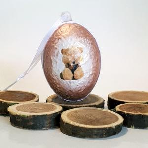 Állatos macis meglepetés tojás teddy medve fanoknak húsvéti tojás nem csak húsvétra, névnapra, szülinapra, gyermeknapra., Függődísz, Dekoráció, Otthon & Lakás, Decoupage, transzfer és szalvétatechnika, Állatos, macis meglepetés tojás teddy medve fanoknak, locsoló ajándék, húsvéti tojás, ajándék nem cs..., Meska