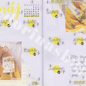 Bullet journal heti nyomtatható tervező, sárga méhecske témájú, 2020 május, 22. hét, 3 az 1-ben naptár, tervező, napló., Otthon & lakás, Naptár, képeslap, album, Jegyzetfüzet, napló, Naptár, Dekoráció, Ünnepi dekoráció, Gyereknap, Fotó, grafika, rajz, illusztráció, Bullet journal heti nyomtatható tervező, sárga méhecske témájú, 2020 május, 22. hét, 3 az 1-ben napt..., Meska