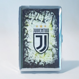 Juventus foci rajongói fém cigarettatárca, futball szurkolói ajándék szüinapra, névnapra, karácsonyra, Otthon & lakás, Férfiaknak, Focirajongóknak, Legénylakás, Decoupage, transzfer és szalvétatechnika, Juventus foci rajongói fém cigarettatárca, futball szurkolói ajándék szüinapra, névnapra, karácsonyr..., Meska
