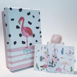 Flamingó fa sötétben fluoreszkáló fülbevaló +díszdoboz szülinapi névnapi valentin napi mikulás ill. karácsonyi ajándék, Ékszerdoboz, Ékszertartó, Ékszer, Festészet, Flamingó fa sötétben fluoreszkáló fülbevaló +díszdoboz szülinapi névnapi valentin napi mikulás ill. ..., Meska