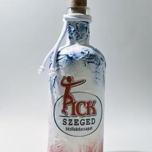 Pick Szeged rajongói dísz- és használati italos üveg - ajándék férfiaknak, férjeknek, barátoknak. - Meska.hu