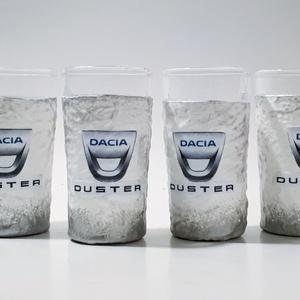 Dacia duster autó rajongói dísz- és használati röviditalos pohárszett autó rajongói ajándék szülinapra, névnapra, Otthon & Lakás, Konyhafelszerelés, Pohár, Decoupage, transzfer és szalvétatechnika, Dacia Duster autó rajongói dísz- és használati röviditalos pohárszett autó rajongói ajándék szülinap..., Meska