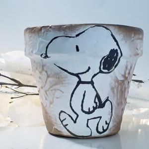 Soopy kaspó állatos virágtartó virágcserép bármilyen alkalomra szülinapra, névnapra, mikulásra, adventre, karácsonyra, Otthon & Lakás, Dekoráció, Virágtartó, Snoopy állatos kaspó karácsonyi virágtartó virágcserép bármilyen alkalomra szülinapra, névnapra, mik..., Meska