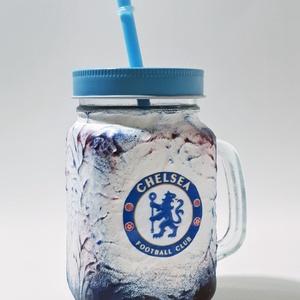 Chelsea foci rajongói sörös korsó vagy szívószálas üveg kettő az egyben, Otthon & Lakás, Konyhafelszerelés, Bögre & Csésze, Chelsea foci rajongói sörös korsó vagy szívószálas üveg kettő az egyben  Foci rajongó a család apraj..., Meska