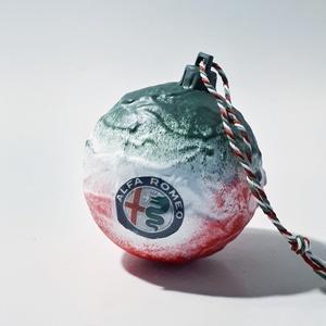 ALFA ROMEO karácsonyfagömb, ALFA ROMEO karácsonyfadísz, ALFA ROMEO rajongói ajándék szülinapra, névnapra, karácsonyra, Karácsony & Mikulás, Karácsonyfadísz, ALFA ROMEO karácsonyfagömb, ALFA ROMEO karácsonyfadísz, ALFA ROMEO rajongói ajándék szülinapra, névn..., Meska
