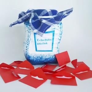 Évfordulós úticélok befőttes üveg, bakancs listás üveg, különleges ajándék szülinapra, névnapra, karácsonyra, miklulásra, Otthon & Lakás, Konyhafelszerelés, Konyhai dísz, Évfordulós úticélok befőttes üveg, bakancslistás üveg, különleges ajándék szülinapra, névnapra, kará..., Meska