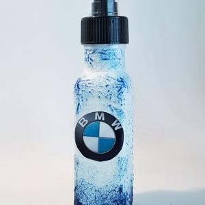 Kiárusítás BMW kölnivíz tart, illatosító üveg autó rajongói pumpás locsolkodó autóillatósító üveg lakásillatosító üveg. , Otthon & Lakás, Dekoráció, Díszüveg, Decoupage, transzfer és szalvétatechnika, BMW kölnivíz tartó, illatosító üveg, autó rajongói pumpás locsolkodó, autóillatósító üveg, lakásilla..., Meska