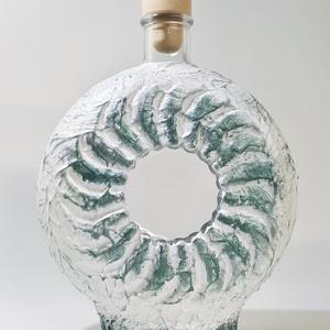 Az én napom pálinkás üveg, gravírozható italos üveg, boros üveg, röviditalos üveg akár saját felirattal szülinapra., Otthon & Lakás, Dekoráció, Díszüveg, Festett tárgyak, Az én napom pálinkás üveg, gravírozható italos üveg, boros üveg, röviditalos üveg akár saját felirat..., Meska