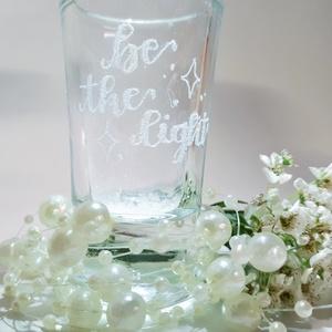 Köszönő ajándék, vendég ajándék, gravírozott ültetőpohár esküvőre, pálinkás pohár gyertyatartó esküvői asztali dekoráció, Esküvő, Emlék & Ajándék, Köszönőajándék, Gravírozás, pirográfia, Köszönő ajándék, vendég ajándék, gravírozot ültető pohár esküvőre, pálinkás pohár, gyertyatartó, esk..., Meska