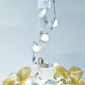 Pénzátadó palack, kémcső váza, esküvői váza, modern menyasszony és vőlegény váza, esküvői dekoráció és nászajándék, Esküvő, Emlék & Ajándék, Nászajándék, Decoupage, transzfer és szalvétatechnika, Pénzátadó palack, kémcső váza, esküvői váza, modern menyasszony és vőlegény váza, esküvői dekoráció ..., Meska