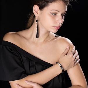 BORLA-ÓNIX Fülbevaló, Ékszer, Fülbevaló, Ékszerkészítés, BORLA-ÓNIX Fülbevaló\nA fèm rèsze antiallergè nemesacèlból kèszült, így nem iritàlja a bőrt.\nFülbeval..., Meska