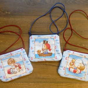 Ovis oldaltáska kisebb Hölgyeknek, Egyéb ovis kiegészítő, Ovis zsák & Ovis szett, Játék & Gyerek, Varrás, Ovisokra, kisebb Hölgyekre gondolva varrtam ezeket az aranyos kis vállon átvetve hordható táskákat.\n..., Meska
