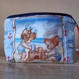 Neszeszer, kozmetikai táska, kicsi, Táska, Divat & Szépség, Táska, Neszesszer, Varrás, Neszeszer vagy kozmetikai táska, melyben bármit magunkkal vihetünk.\nEz az igazi női kézitáskába bele..., Meska
