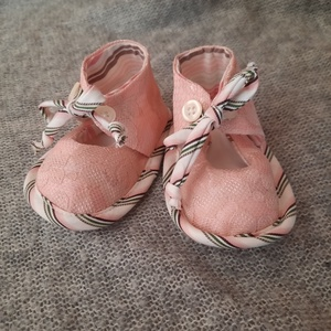 Baby cipő Angéla, Gyerek & játék, Baba-mama kellék, Varrás, Újrahasznosított alapanyagból készült termékek, Talp 12cm, Meska