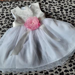 Keresztelő alkalmi ruhácska Brokát, Gyerek & játék, Baba-mama kellék, Varrás, keresztelő alkalmi születésnapi ajándék ruhácska\nAnyaga menyasszonyiruha szalonomból maradt, Meska